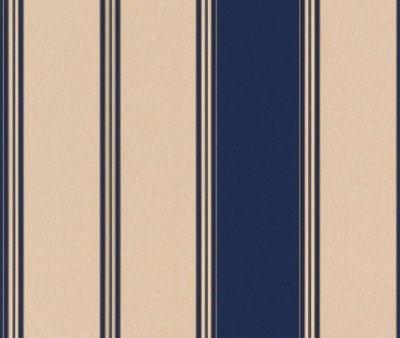 280326 blauw /goud papier