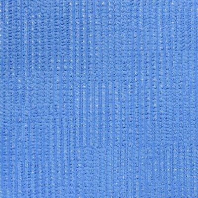 312751 blauw vinyl  weefsel met zilver glitter
