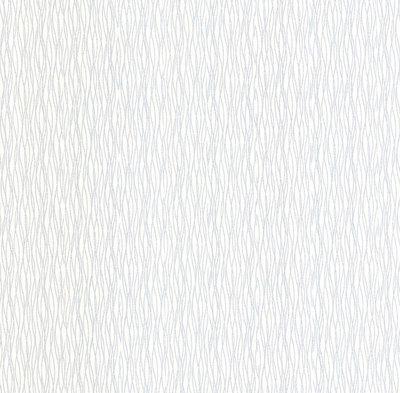 13704-30 vinyl op vlies wit met zilver glitter