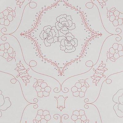 7241-2 flower barok vlies