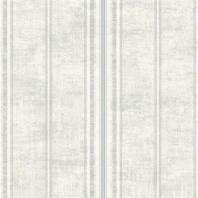 etten wallcovering mercury laurel wit/taup/grijs vlies