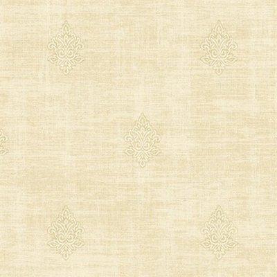 etten wallcovering mercury fleur de lis  vlies beige creme