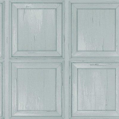 214512 vintage panelen turkoois mint tinten papier
