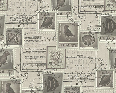 1 oude postzegels landelijk riviera maison style