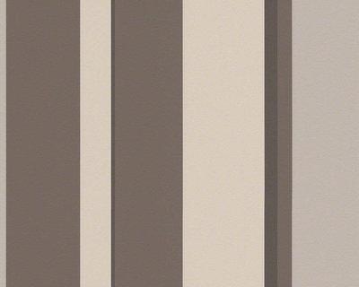 94018-3 bruine streep met glans effect