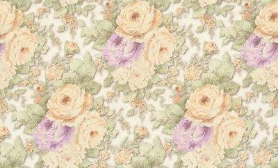 A.S. Création behang - flower days vinyl op vlies dubbel brede rol 1,06