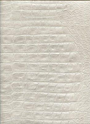 2S0204 2nd Skin Crocodile Skin Grey schitterende huid croco grijs relief vinyl op vlies