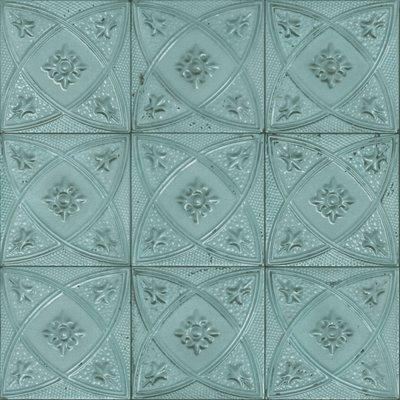 Rasch 932515 ceramic tegelbehang victoriaanse tegels op vlies