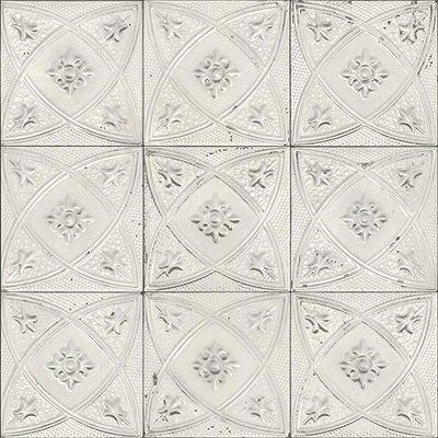 Rasch 932508 ceramic tegelbehang victoriaanse tegels op vlies