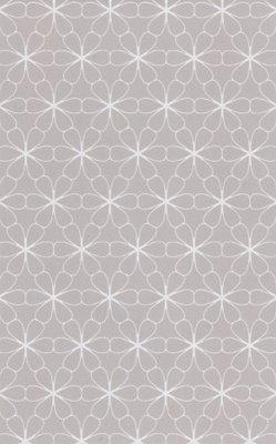 17905 summer breeze grijs grafische bloemen vlies