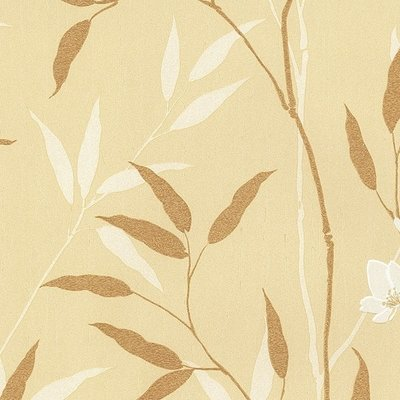 Behang Bloemen Beige MD29406