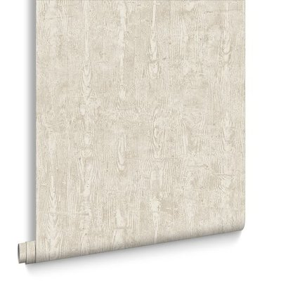 driftwood taupe/houtstructuur taupe vlies