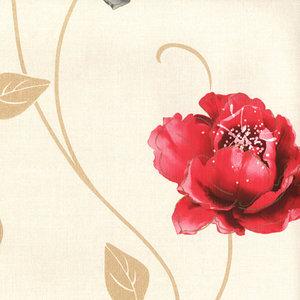 muriva sophia red papier behang