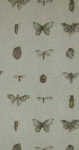 BN Wallcovering Chacran 2 18430 weefsel met vlinders lieveheersbeestjes etc